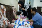 Fotoğraf: İranlı ailenin beşiz bebek sevinci