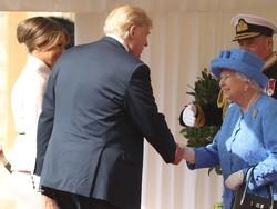 دیداری ترامپ لەگەڵ شاژنی بریتانیا