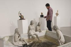 مجسمهسازان «چهارسوی خیال» را به خانه هنرمندان آوردند