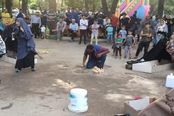 «ضیافتی در گورخانه» در میان استقبال مردم خرمآباد اجرا شد