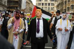 تظاهرات ضد ترامپ در انگلیس
