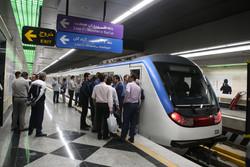 خدمات مترو به شرکتکنندگان در پیادهروی اربعین تهران