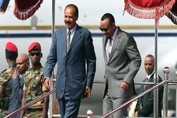 رئیسجمهوری اریتره مورد استقبال نخستوزیر اتیوپی قرار گرفت