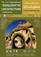 A poster for the 3rd International Troglodytic Architecture Conference