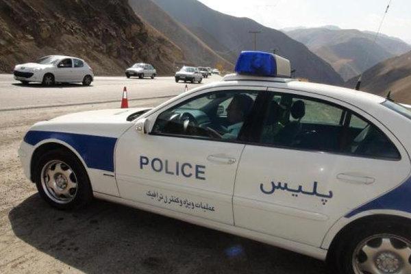 حضور ۱۰۰ گشت پلیس در جادههای کرمانشاه با آغاز سفرهای تابستانه
