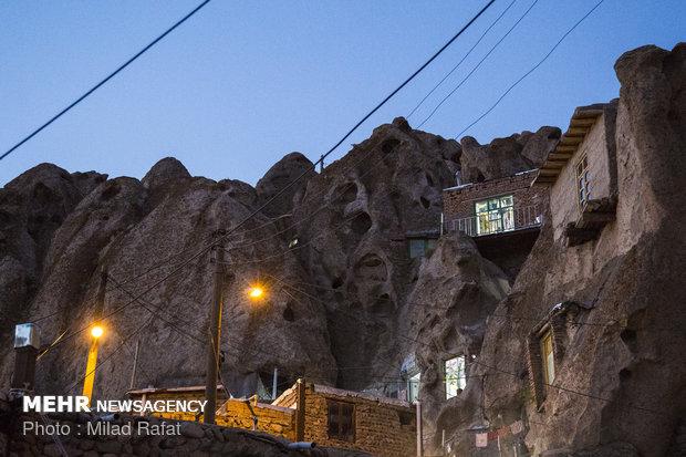 قرية كندوفان الصخرية في شمال غربي ايران