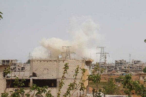 انفجار خودروی بمب گذاری شده در جنوب دمشق