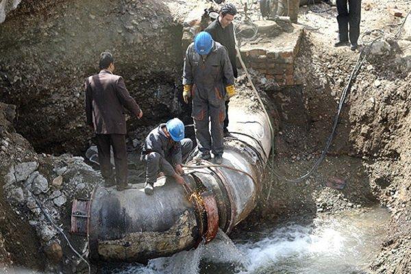 میزان شکستگی شبکه توزیع آب در شهر یاسوج افزایش یافته است