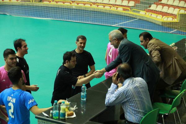 جلسه بازیکنان و کادرفنی تیم والیبال جوانان با رئیس فدراسیون