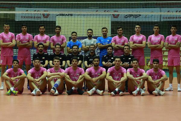 تیم والیبال جوانان ایران نایب قهرمان شد