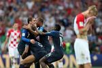 دیدار تیم های ملی فوتبال فرانسه و کرواسی