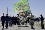 تشییع شهید مدافع وطن ایمان یوسفی