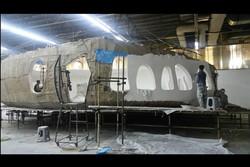 «تورنادو» با اکبر عبدی مذاکره میکند/ عکسهایی از دکور سفینه