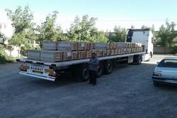 ۱۰۰ هزار مترمربع سنگ از خراسان جنوبی به عتبات عالیات ارسال شد