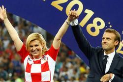 رئیس جمهور کرواسی و فرانسه