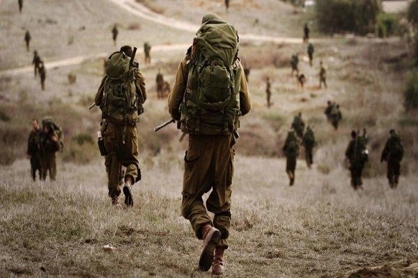 رزمایش رژیم صهیونیستی در نزدیکی غزه