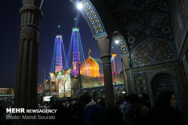 برگزاری برنامه ویژه میلاد امام حسن عسکری(ع) در حرم بانوی کرامت