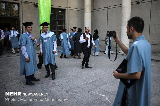 Yabancı uyruklu öğrenciler için mezuniyet töreni