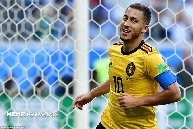 دیدار تیم های ملی فوتبال بلژیک و انگلیس