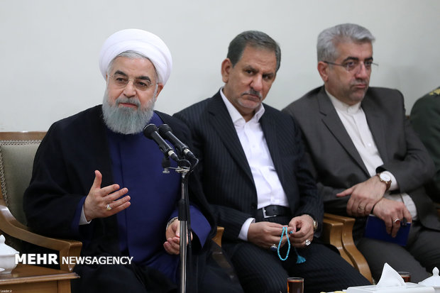 Pres. Rouhani calls for full coop. against US plots