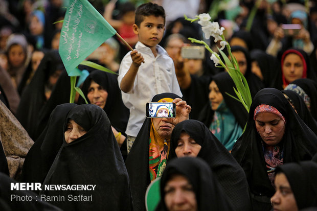 Girls Day commemorated in Imam Reza Holy Shrine