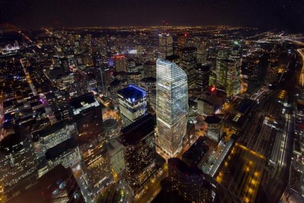 برج مقاوم در برابر باد در تورنتو طراحی شد