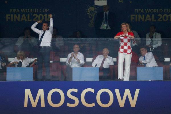 تصویری متفاوت از شرایط دو رئیس جمهور پس از فینال جام جهانی
