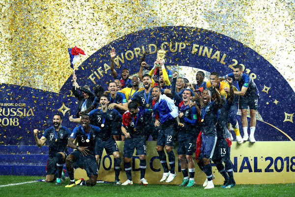 France lift 2018 World Cup for second time