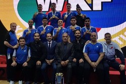 Iran wins team kumite, finishes runner-up at Asian Karate C'ships