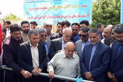 پروژه آب رسانی به روستای «قشلاق جیتو» قرچک افتتاح شد