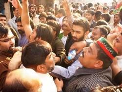 تصادم لڑائی پاکستان