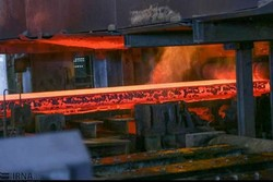 Iran's crude steel output up by 17% in Q1