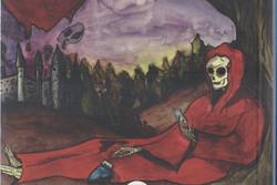 """طبعة جديدة من """"قناع الموت الاحمر"""" لإدغار آلان بو باللغة الفارسية"""