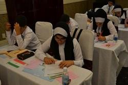 Iranian students shine at international math event