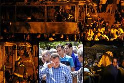 برخورد تانکر با اتوبوس در سنندج