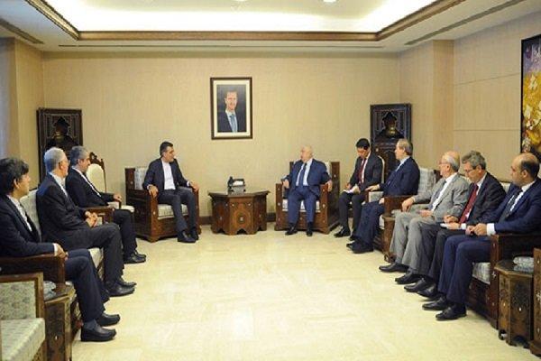 Iran's Jaberi Ansari holds talks with Syrian FM