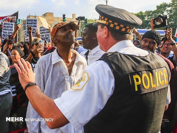 تظاهرات در آمریکا علیه خشونت پلیس