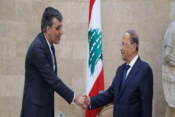 FM special aide conveys Rouhani's message to Lebanese pres.
