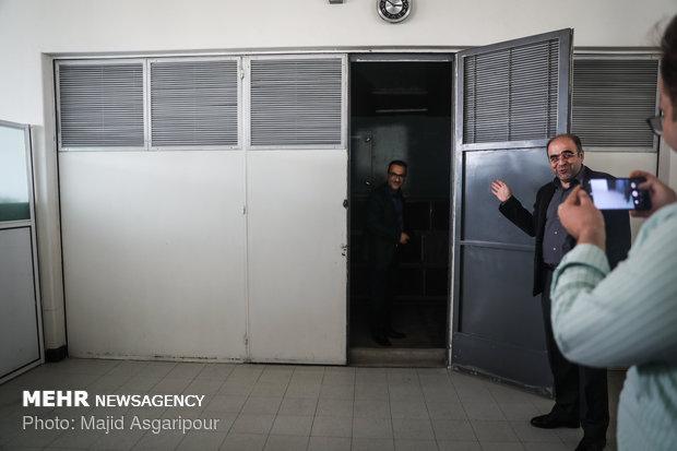 Reporters visit datacenter of Imam Khomeini (RA) Center