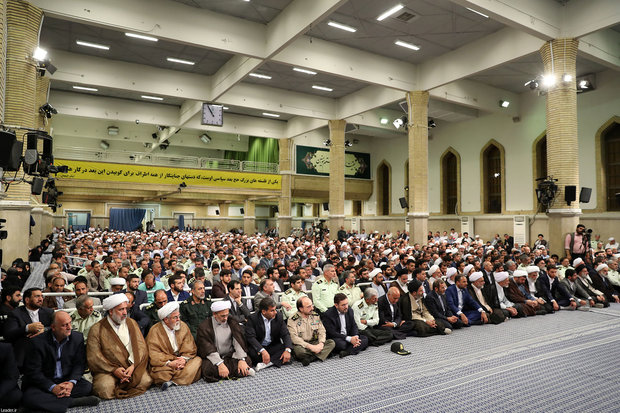 Leader receives Hajj officials