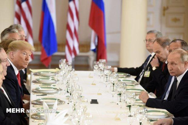 دیدار پوتین و ترامپ در هلسینکی