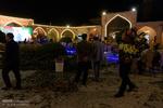 آیین بازگشایی کاروانسرای شاهعباسی همراه با برپایی نمایشگاه عکسهای ایران اثر جورج گئورگ ژرستر