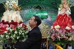Hz. İmam Rıza (a.s) Türbesi çiçeklerle süslendirildi