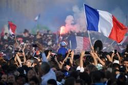استقبال فرانسوی ها از تیم ملی کشورشان
