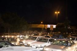 ترافیک سنگین در محور بومهن به تهران
