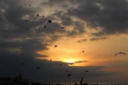 جشنواره پرواز بادباک ها در انزلی
