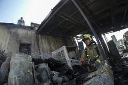 آتش سوزی برج ۲۱ طبقه در تهران/مصدومیت ۲۴نفر