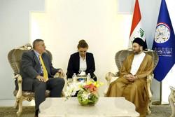 موضع گیری عمار حکیم درباره اعتراضات عراق
