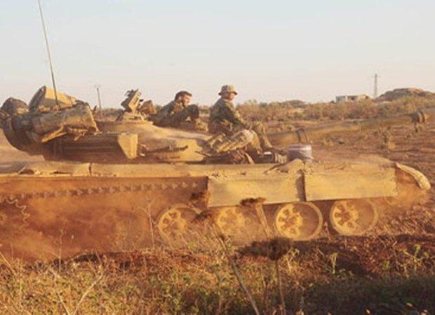 Syrian Army liberates al-Mal town,al-Mal hill in Daraa