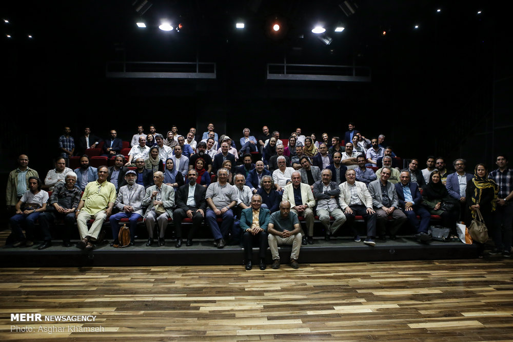 تودیع و معارفه مدیرعامل خانه تئاتر برگزار شد